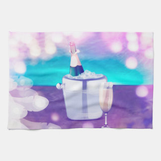 Champagne Kitchen/Hand Towl Kitchen Towel