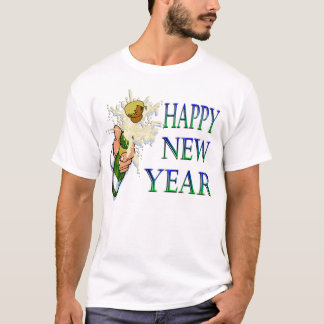 Champagne New Years T-Shirt