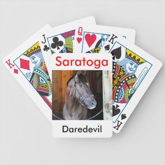 "Champagne Stakes Winner ""Daredevil"" Bicycle Playing Cards"
