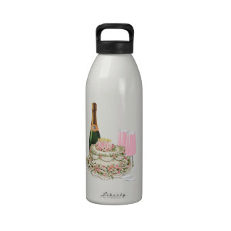 Champagne Toast Birthday Drinking Bottles