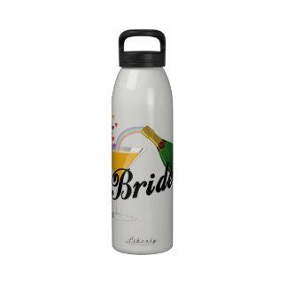 Champagne Toast Bride Water Bottle