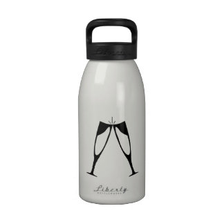 Champagne Toast Drinking Bottle
