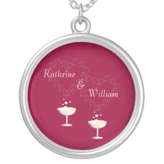 Champagne Toast Necklace