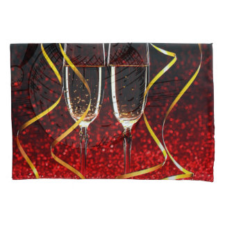 Champagne Toast on New Years Day Pillowcase