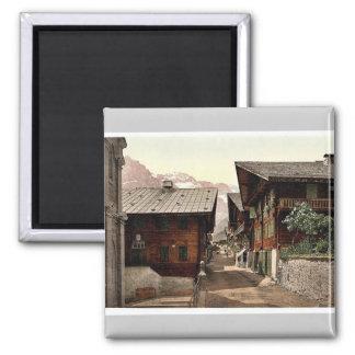 Champery, Principal Street, Valais, Alps of, Switz Magnet