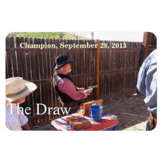 Champion 9-28-13 - Arizona Gunslingers Rectangular Photo Magnet