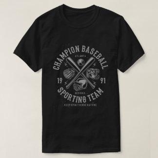 Champion Baseball T-Shirt