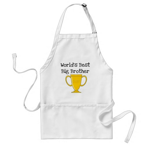 Champion Big Brother Tshirts and Gifts Adult Apron