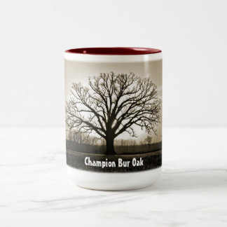 Champion Bur Oak Tree Mug