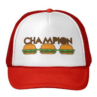CHAMPION BURGERS yum! Mesh Hats