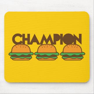CHAMPION BURGERS yum! Mouse Pads
