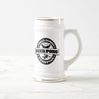 Champion de puanteur de bière chope à bière