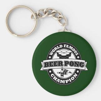 Champion de puanteur de bière porte-clés