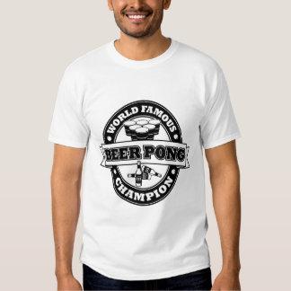 Champion de puanteur de bière t shirt