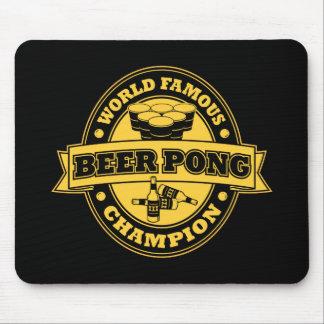 Champion de puanteur de bière tapis de souris