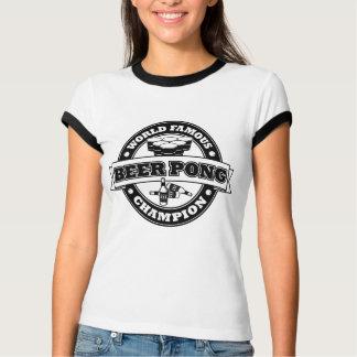 Champion de puanteur de bière tshirts