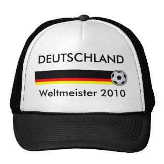 Champion du monde Cappie football Allemagne 2010 Casquette De Camionneur