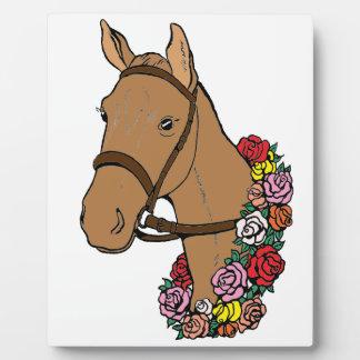 Champion Horse Plaque
