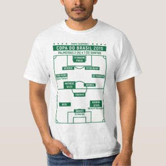 CHAMPION TEAMS - Cup of Brazil 2015 (white) T-Shirt