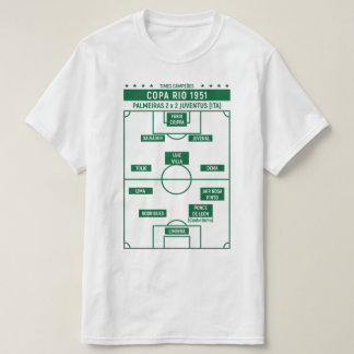 CHAMPION TEAMS - Cup Rio 1951 (white) T-Shirt