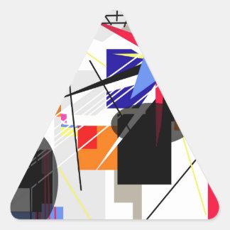 Champion Triangle Sticker