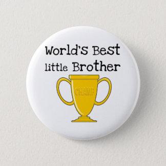 Champion World's Best Little Brother 2 Inch Round Button