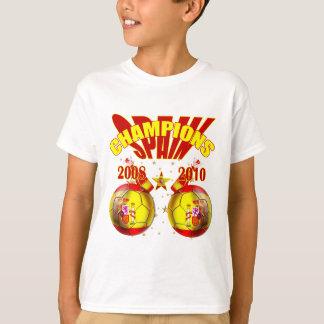 Champions Spain Europe 2008 World 2010 T-Shirt