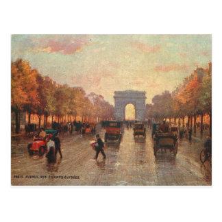 Champs Elysee Postcard
