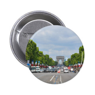 Champs-Élysées, Paris 2 Inch Round Button