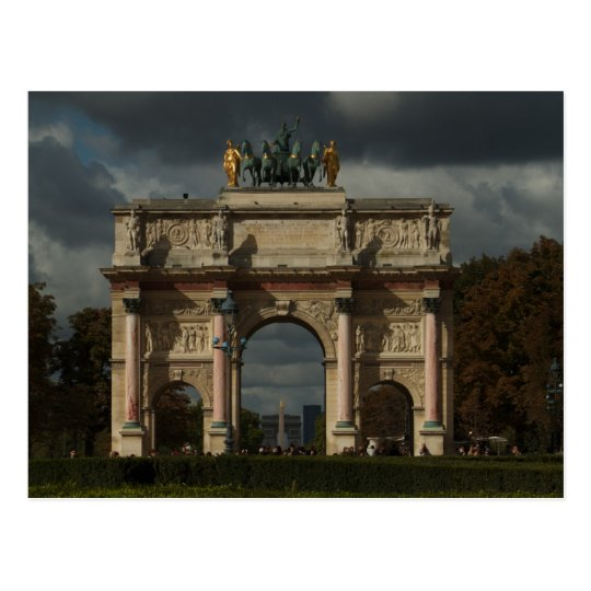 Champs-Elysees Postcard