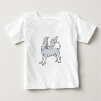 Chamrosh Side Drawing Baby T-Shirt