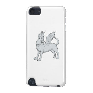 Chamrosh Side Drawing iPod Touch 5G Covers