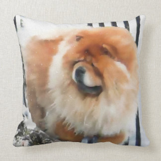 CHANCE & CHLOE  heARTdog 2 Side pillow