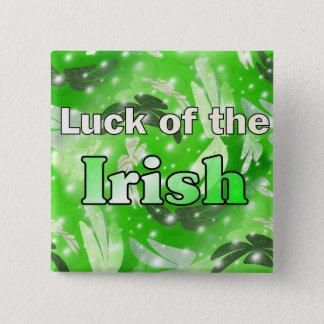 Chance de l'Irlandais Macaron Carré 5 Cm