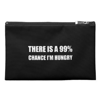 Chance I Am Hungry Travel Accessory Bags