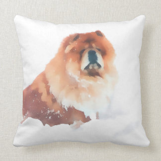 CHANCE IN THE SNOW  heARTdog 2 Side pillow