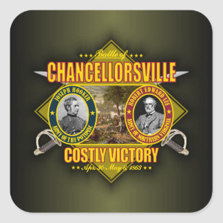 Chancellorsville Square Sticker