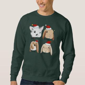 Chandail de Noël de groupe de lapin Sweatshirt