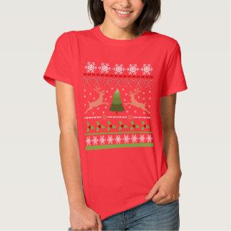 Chandail laid drôle de Noël Tshirts