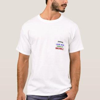 Chandail versent le mobile automatique de Lave T Shirt