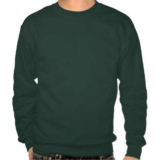 Chandail vert d'équipe sweat-shirts
