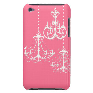 Chandelier Cute Fun Whimsical Girly Design Covers Case-Mate iPod Touch Case