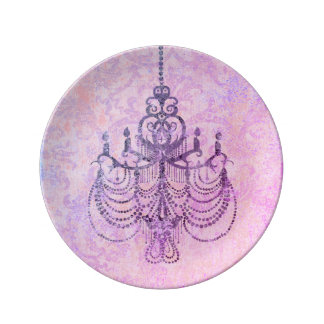 Chandelier Design - CHANGE COLOR (More Options) Plate