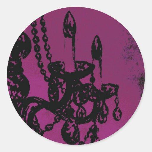 Chandelier Glamour ~ Sticker