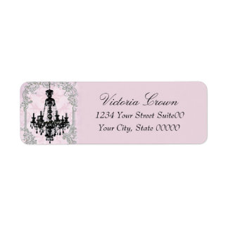 Chandelier Return Address Avery Label Return Address Label