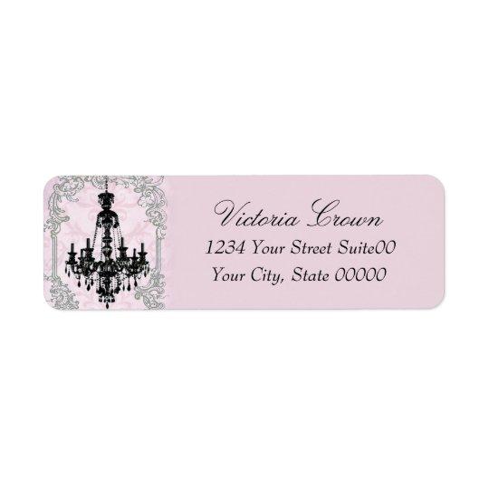 Chandelier Return Address Avery Label Return Address Label