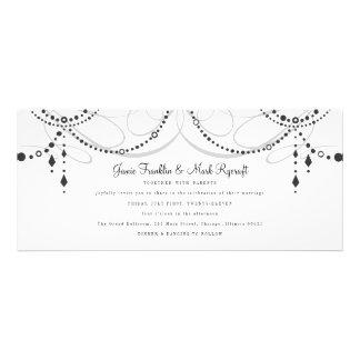 Chandelier Tea Length Wedding Invitation