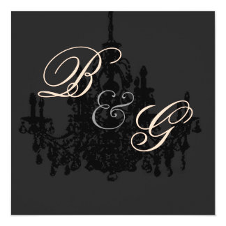 Chandelier,  wedding Invitations