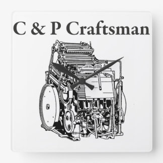 Chandler and Price Craftsman Clock