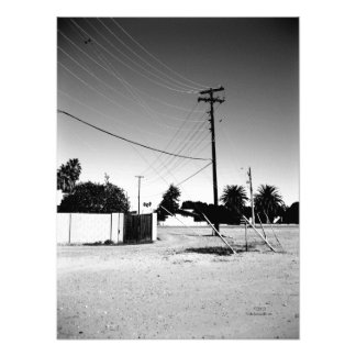Chandler AZ Powerlines Photo Print